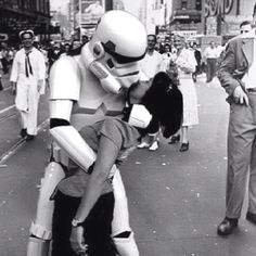 The Kiss (stormtrooper style)