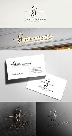 제니윤바이올린 / Design by hanq1918 / Jenny Yun의 이니셜J와 바이올린을 상징화 한, 심플하고 고급스러운 느낌 전달에 중점을 둔 로고 #바이올린 #상징화 #아카데미 #과일 #고급스러운 #제니윤 #댄스올린 #카페 #디자이너 #라우드소싱 #레퍼런스 #콘테스트 #logo #design #포트폴리오 #디자인의뢰 #공모전 #모더니즘 #맞팔 #심볼마크 #심볼 #일러스트 #작업 #color #타이포그래피 #아이콘 #곡선 #로고타입