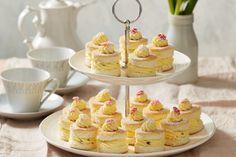 No-Bake Petite Lemon Passionfruit Sponges