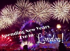 Spending New Year's Eve in London!