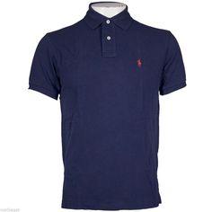 Mens Ralph Lauren Polo Tshirt Short Sleeve Small Pony 110e8a9bfc312