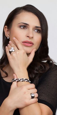 RAZ Collections Jewelry. Choose from our exquisite line.  Ceramic, Sterling Silver and Simulated Diamonds. www.razcollections.com