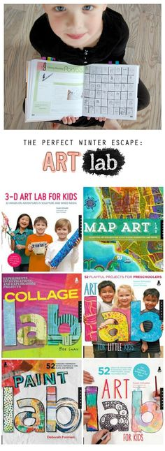 Great resources and inspiration for exploring art with the children in our lives...