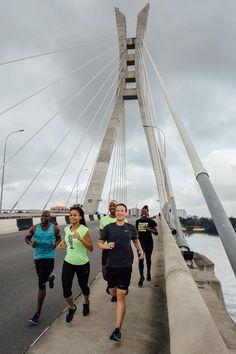 See photo of super fit Mark Zuckerberg jogging on Lekki-Ikoyi bridge Lagos Jogging, Walk On Water, African Countries, Friend Photos, Berg, See Photo, Golden Gate Bridge, Places To Visit, Federal