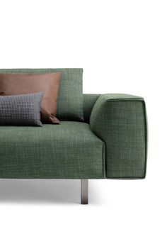 TODD - Designer Sofas from Busnelli ✓ all information ✓ high-resolution images ✓ CADs ✓ catalogues ✓ contact information ✓ find your nearest. Sofa Bench, Sofa Chair, Couch, Settee, Fabric Sofa, Cushions On Sofa, Scandinavian Sofas, Sofa Design, Interior Design