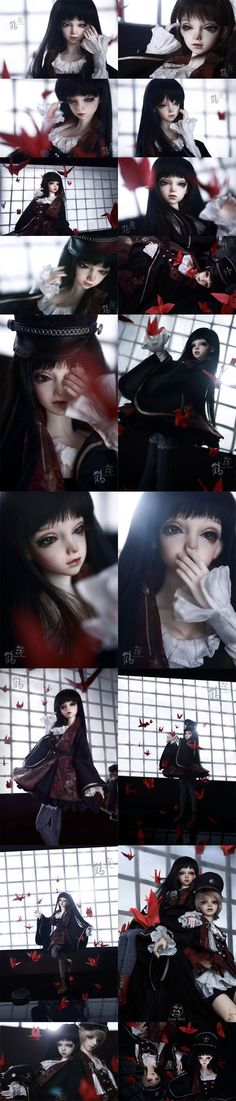 BJD He 58cm Girl Boll-jointed doll_58-62cm dolls_LOONG SOUL_DOLL_Ball Jointed Dolls (BJD) company-Legenddoll