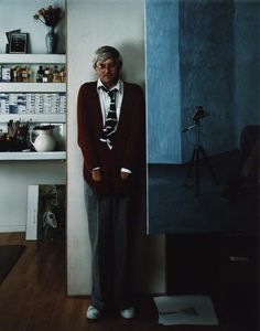 David Hockney by Arnold Newman, 1978