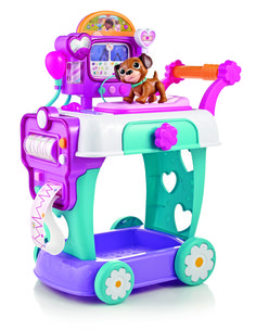 Is there a doctor in the house? Doc McStuffins has branched out to care for people and Walmart has the new Doc McStuffins Hospital Care Cart available at a low price.