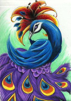 Peacock by kurtcrawler