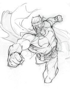 Patrick Brown is creating Art Video Tutorials and Time-lapses - Batman Poster - Trending Batman Poster. - Patrick Brown is creating Fan art Batman Poster, Batman Gif, Batman Painting, Batman Drawing, Drawing Reference Poses, Drawing Poses, Cool Drawings, Drawing Sketches, Comic Books Art
