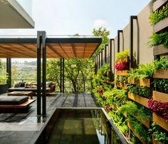 Outdoor Pergola, Backyard Patio, Outdoor Spaces, Outdoor Living, Gazebo, Terrace Design, Patio Design, Loft Design, Wall Design