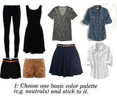 Packing tips & outfits designed to maximize key pieces (& suitcase space!) without minimizing style - Summer Wanderer Part1
