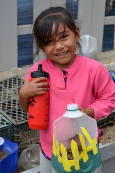 Corazon educates kids about recycling at a young age :) #nonprofit #charity #corazon