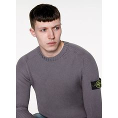 6515 Stone Island_ AW '016 '017_ 506C2_Crew neck knit in lightweight full ribbed wool. StoneIsland.com