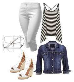 """""""Outfit #4"""" by sunshine24-7-1 ❤ liked on Polyvore featuring Dorothy Perkins, maurices, Aquazzura and L.K.Bennett"""