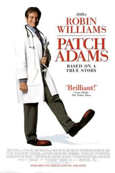 Patch Adams Movie Robin Williams Original Poster Print Original Poster
