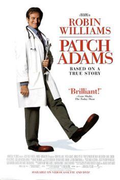 Patch Adams Movie Robin Williams Original Poster Print Original Poster