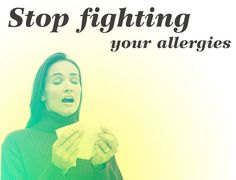 5 Ways to Naturally Stop those Allergies!!