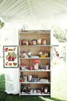 Vintage Candy | Vintage candy bar | California Wedding Style