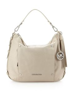 Bowen Large Shoulder Bag, Dove White by Michael by Michael Kors at Last Call by Neiman Marcus.