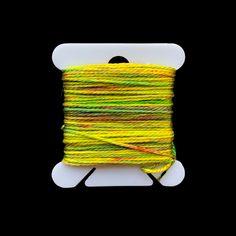 Individual Bobbins of Hand-Painted Silk: Color Twenty-Seven Painted Silk, Hand Painted, Mulberry Silk, Silk Painting, The Twenties, Fiber, Weaving, Color, Low Fiber Foods