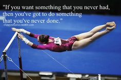 (My gymnastics pin:) ) Gymnastics Skills, Sport Gymnastics, Olympic Gymnastics, Rhythmic Gymnastics, Olympic Games, Gymnastics Things, Cheer Quotes, Soccer Quotes, Sport Quotes