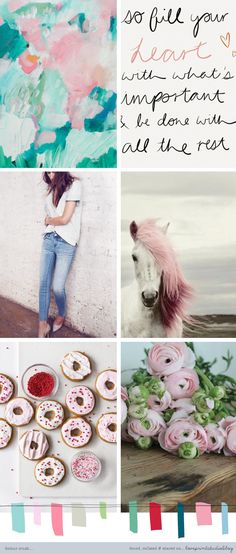 A nice soft and pretty, feminine colour crush post for your Friday...   Have a good weekend everyone!         1  | 2  | 3  | 4  | 5  | 6   ...