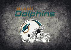Miami Dolphins Area Rug