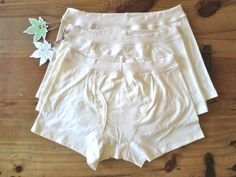 3x Organic Cotton & Hemp Boxer Briefs Men's by iLoveBadOrganics