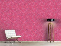 Design Paisley In Pink Paisley, Happy Baby, Oriental, Pink, Curtains, Shower, Design, Self Adhesive Wallpaper, Wall Papers
