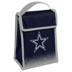 $9.99--NFL-Football-Team-Logo-Gradient-Hook-amp-Loop-Cooler-Lunch-Bag-Pick-Team