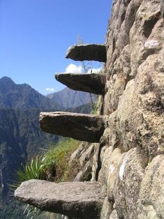 wayna picchu stairs of death - Google Search