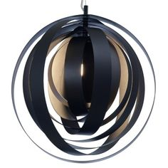 Orba Pendant Lamp - A distinctive style with a hint of craftiness makes Nuevo Living's Orba a sleek choice not only for unique artsy spaces but also as an eclectic touch in a . Contemporary Pendant Lights, Modern Lighting, Pendant Lighting, Pendant Lamps, Pendants, Globe Pendant, Light Pendant, Suspension Cable, Multi Luminaire