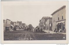 RP: Main Street [dirt] , wagons , WILLIAMS , Iowa , 00-10s