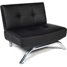 Emma Lounge Chair, Black $149