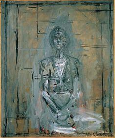 Alberto Giacometti, Bildnis von Annette, 1958 © Albertina, Wien - Sammlung Batliner
