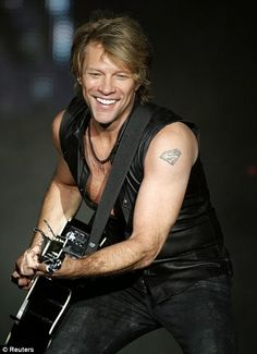 Bon Jovi 50 | Credit Article Concept and Partial Photo Capture