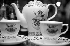 Riddles, a roaring fire and gin cocktails in teacups at The Mad Hatter speakeasy in Oxford | This Is Your KingdomThis Is Your Kingdom