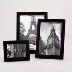 One of my favorite discoveries at WorldMarket.com: Black Lacquer Emery Frame Collection