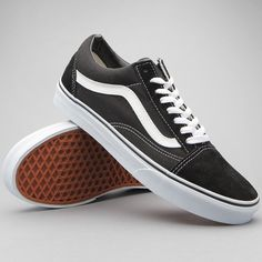 online retailer 603fe 8734e Skor - Old Skool Black White