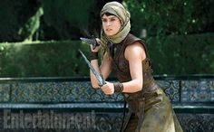 Tyene (Rosabell Laurenti Sellers, an Italian- American who gets stabby with double daggers).