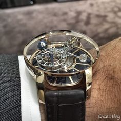 17c2841c9a8 Another shot of the beautiful Jacob Co Astronomia Tourbillon! Uhren