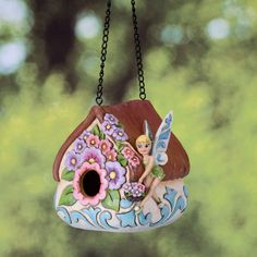 The Collectors Hub - Jim Shore Tinkerbell Birdhouse, $47.95 (http://www.thecollectorshub.com/jim-shore-tinkerbell-birdhouse/)