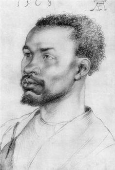 Head of an African - Albrecht Durer.  http://bigideamastermind.com/newmarketingidea?id=moemoney24