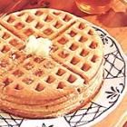Oatmeal Waffles! Delicious and healthy! I used whole wheat pastry flour in place of all purpose flour and they turned out great!!