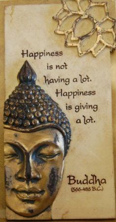 Quotes About Happiness : Get Inspired Arts in Stone Buddha by Arts in Stone. $14.99. can be used hanging