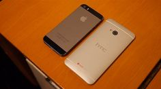 iPhone 5S vs HTC One [video]