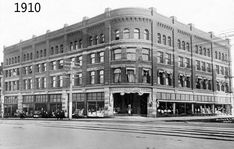 The Original Hudson's Bay Building on Granville and Georgia