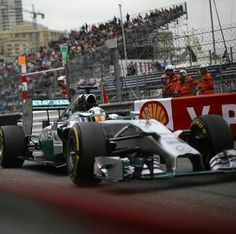 #44 Lewis Hamilton...Mercedes AMG Petronas F1 Team...Mercedes F1 W05...Motor Mercedes PU106A V6 t h 1.6...GP Monaco 2014