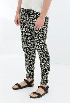 Pantaloni Stampati Zara